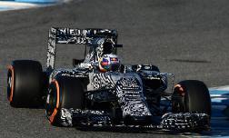 Red Bull Racing представила  на первые тесты болид в камуфляжной «форме»